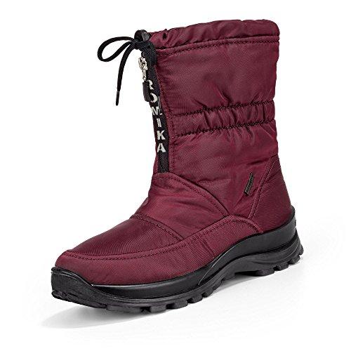 Romika Alaska 118, Botas de Nieve para Mujer, Rojo (Rot (Bor