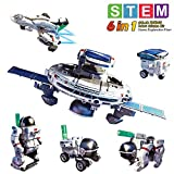 tomons STEM Toys 6-in-1 Solar Robot Kit Learning Science Building Toys Educational Science Kits Powered by Solar Robot for Kids 8 9 10-12 Year Old Boys Girls Gifts …