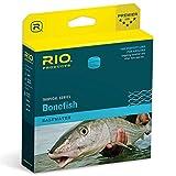 RIO Fly Fishing Fly Line Bonefish Quick Shooter Wf9F Hi-VIS Fishing Line, Orange-Sand