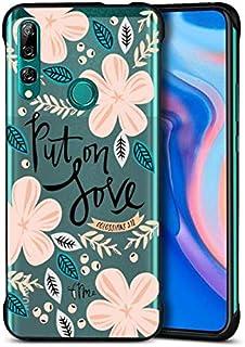 Mjukt bling silikongelfodral för Huawei Y5 2019, stöttåligt skyddande fodral lätt glitter ganska söt rolig cool kreativ gu...