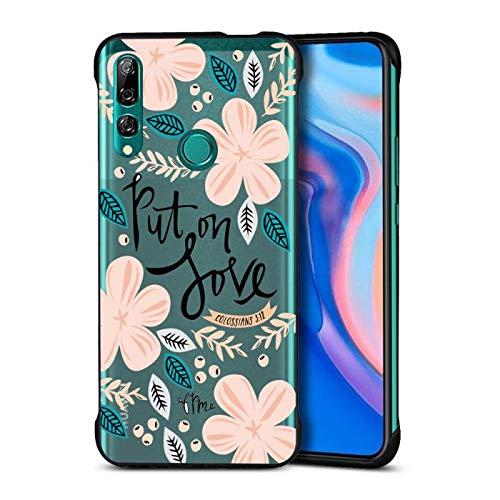 Slim Dünn Soft Hülle für Huawei P Smart Z /Y9 Prime 2019,Mode Durchsichtig Bling Glitzer Diamant Glanz Sparkle Silikon Gel TPU Crystal Kristal Gummi