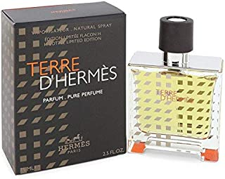 Terre D'Hermes by Hermes Pure Perfume Spray (Limited Edition 2019) 2.5 Oz / 75ml (Men)