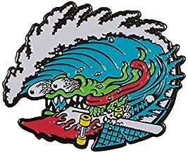 Santa Cruz Skateboard Lapel Pin Wave Slasher
