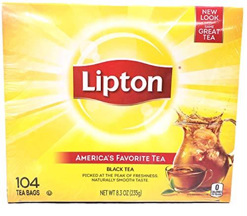 lipton black teas Lipton Tea Bags, Black Tea, 104/bx, Sold As 1 Box