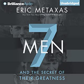 Seven Men audiobook cover art
