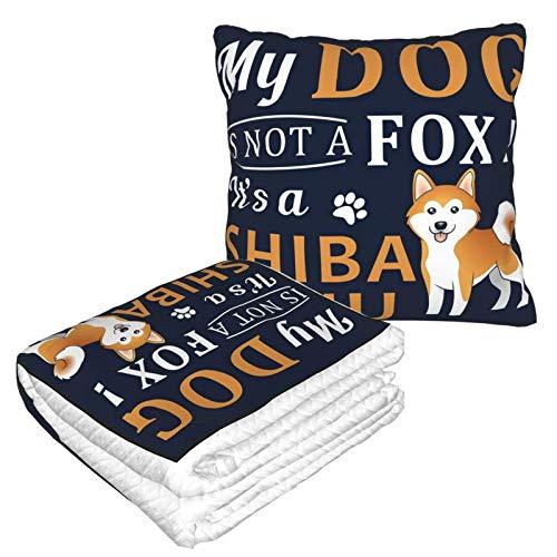 Mein Hund ist kein Fuchs Es ist ein Shiba Inu - Manta de viaje supersuave