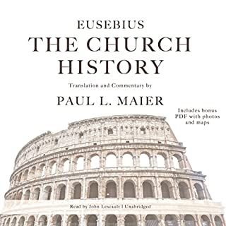 The Church History                   By:                                                                                                                                 Eusebius,                                                                                        Paul L. Maier - translator,                                                                                        Paul L. Maier - commentary by                               Narrated by:                                                                                                                                 John Lescault                      Length: 13 hrs and 14 mins     1 rating     Overall 5.0
