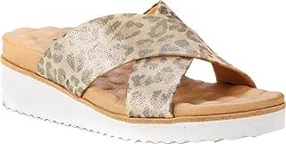 حذاء هدسون معدني على شكل جلد الفهد من ووكينغ كرادلس