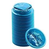 YGDZ ブルーエミシスバッグ ブルー廃棄物処理バッグ 30枚パック 30 Pack FBA_LT0073 30