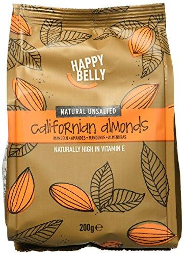 Marque Amazon - Happy Belly Amandes entières, 7x200 g