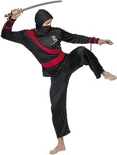 Smiffys - Disfraz de ninja para hombre, talla M (20386M-KIT ...