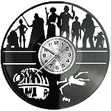 Star Wars - Reloj de Pared (Vinilo), diseño Retro