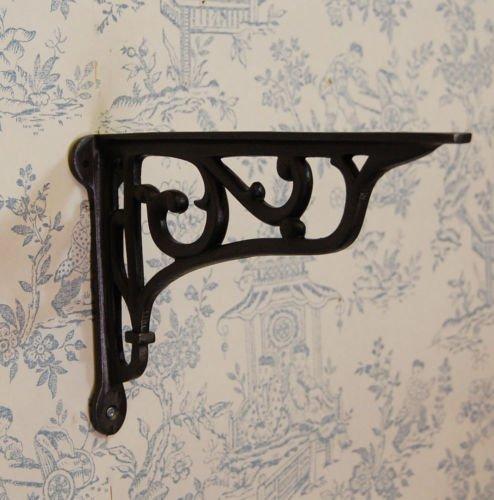 Antique Style victorien traditionnel Motif fer Panier à suspendre et support étagère