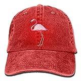 Dyfcnaiehrgrf Flamingo2 - Gorra de béisbol ajustable de algodón para mujer