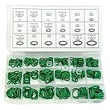 ETXP Portátil Caucho 270 Piezas 18 Tamaño Kit de Anillo tórica Verde Métrico de Junta tórica Sello de Caucho para grifos Monomando y fontanería (Color : Green)
