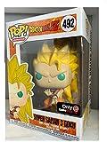 Funko Pop! Dragonball Z Super Saiyan 3 Goku Gamestop Sticker Exclusive