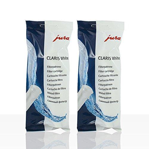 2 JURA Filterpatrone Claris WHITE