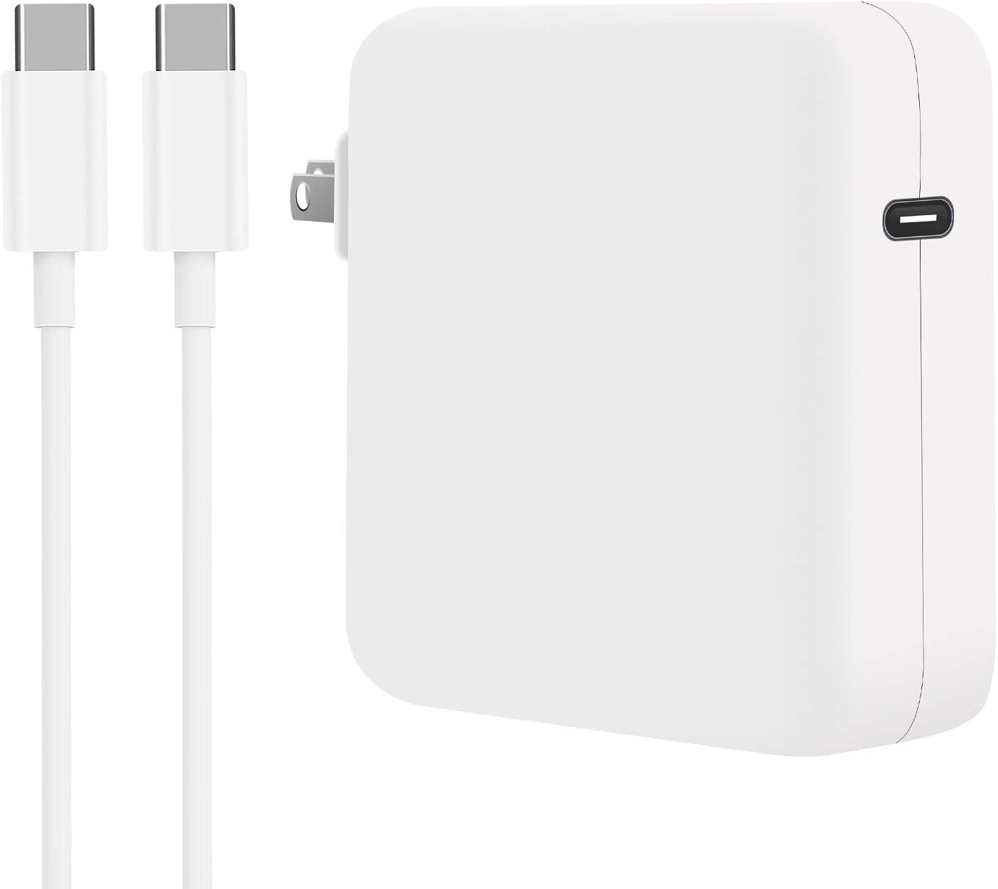 WUCHUKUI Max 88% OFF 61W USB C Charger Power Book Pro Ch Mac Laptop Adapter Detroit Mall