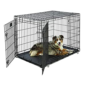 Life Stages LS-1642DD Double Door Folding Crate for Large Dogs(71 – 90lbs)