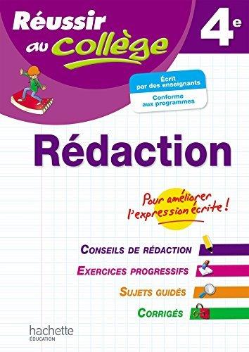 Réussir Au Collège Rédaction 4è by Morgan Senan (2015-02-04)
