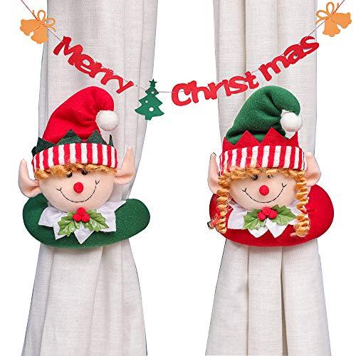 cortina navidad fabricante Porlik