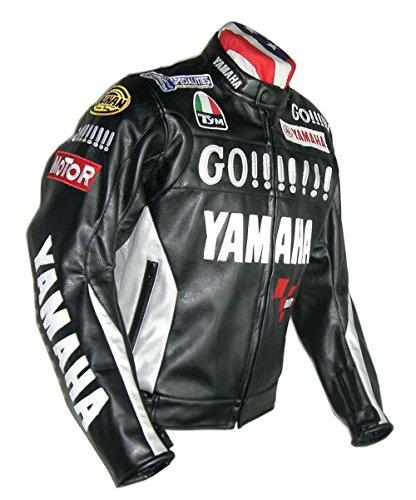 YAMAHA バイクジャケット メッシュ メンズ 3シーズン 秋冬 防寒 バイクウェア ライダース ライディングジャケット ブラック M