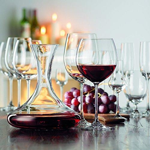 Spiegelau & Nachtmann, Set de 4Pièces de Verre à Bordeaux, Verre en Cristal, 897ML, Vivendi, 0085693–0