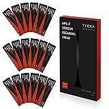 TYCKA Kit de Limpieza del Sensor de La Cámara APS-C Hisopos Húmedos de 16mm para DSLR, Lentes, Gafas Ideal para Absorber y Barrer Partículas y Manchas Invisibles 18 Piezas