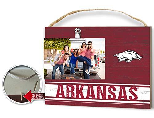 KH Sports Fan Team Colore Arkansas Razorbacks Clip Logo Photo Frame