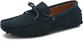 Men's Comfort Shoes Leather Spring/Summer Loafers & Slip-Ons Null Null Black/Burgundy/Royal Blue/Outdoor/Driving Shoes / EU40,A,UK6/CN39