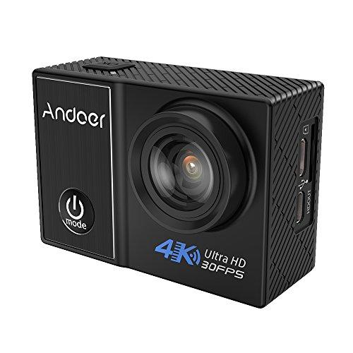 Andoer C5 Pro 4K / 30fps-Action-Kamera 1080P / 120fps 720P...