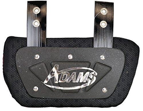 Adams USA VS500 Varsity Back Plate for Shoulder Pads Black, Adult