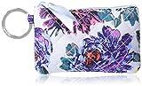 Vera Bradley Women's Cotton Zip ID Case Wallet, Petite Neon Blooms, One Size