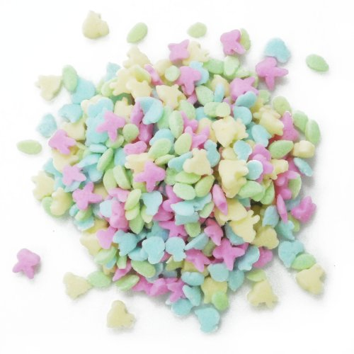 Dress My Cupcake DMC27264 Decorating Edible Cake and Cookie Confetti Sprinkles, Mini Easter Assortment, 2.6-Ounce