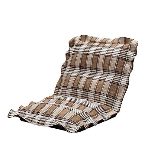 YLCJ Opvouwbare eenpersoonsslaapbank slaapkamer afneembare woonkamer slaapbank schoonmaak + (kleur: bruin (grill))