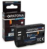 PATONA Platinum Bateria LP-E6NH 2250mAh Compatible con Canon EOS R5, R6, 70D, 80D, 90D, de Calidad Probada y fiable