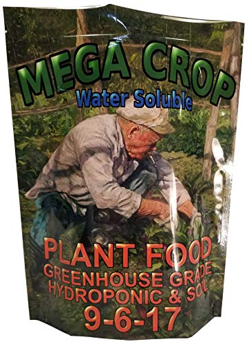 MEGA Crop (1000g) Complete Hydroponic and Soil Nutrient