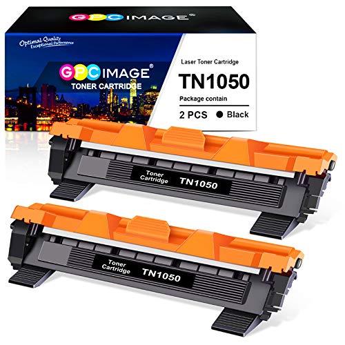 GPC Image TN1050 Ersatz-Tonerkartuschen, kompatibel mit den Druckern Brother DCP-1510 / DCP-1512 / HL-1110 / HL-1210W / DCP-1612 / DCP-1610W / HL-1112 / MFC-1810 / MFC-1910W, 1.000Seiten