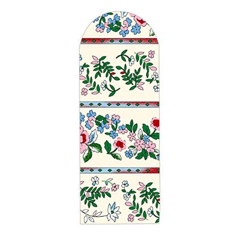 ZJBKX Funda para Tabla de Planchar Cordón Extra Ancho y Grande con contrapiso Extra Grueso, Flor Rosa, 160x60 cm
