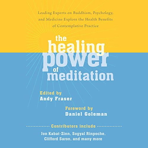 The Healing Power of Meditation audiobook cover art