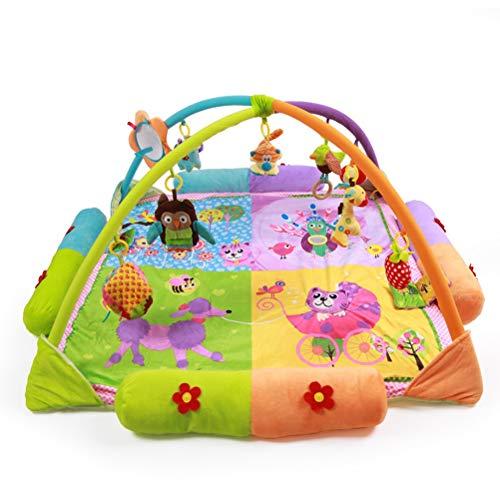 CarPET ZI Ling Shop- ☺Cartoon Princess Baby Game Pad Game Blanket Baby Crawling Mat Jouet pour bébé (130x130x60cm) (Couleur : C)