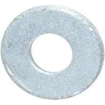 "100pcs 3//8/"" SAE Flat Washers Hot Dip Galvanized"