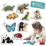 Akros (AKRP1) Rompecabezas de Animales, Multicolor INTERDIDAK SL AKROS_50221