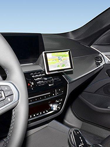 KUDA 6691 Halterung Dakota schwarz Leder (K3000) für BMW 5er (G30 / G31) ab 2017