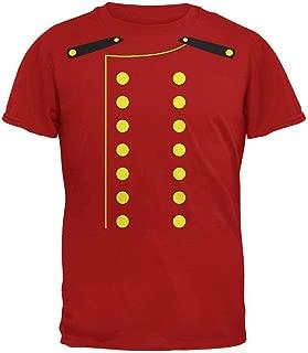 Halloween Hotel Bellhop Costume Red Adult T-Shirt