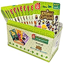 Animal Crossing Amiibo Cards Series 1 – Full box (18 Packs) (6 Cards Per Pack/108 Cards) (Renewed)