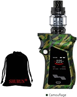 Auténtico SMOK Mag kit 225W mod con 8ml TFV12 Prince tanque sin nicotina incluyendo bolsa de almacenamiento SHURUN (Tarnung)