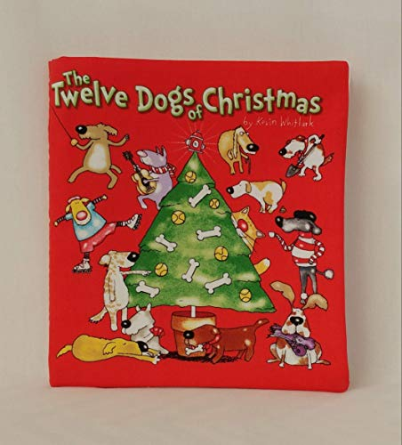 The Twelve Dogs of Christmas Soft Cloth Books for Baby and Children