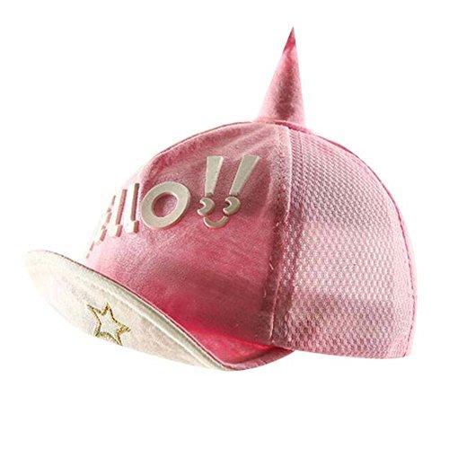 Rose Grand cadeau pour bébé mode Sunhat Pliable Chapeau de plage d'été Chapeau chapeau en coton