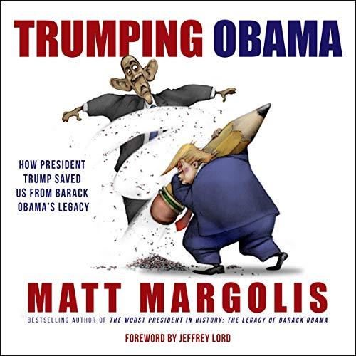 Trumping Obama audiobook cover art